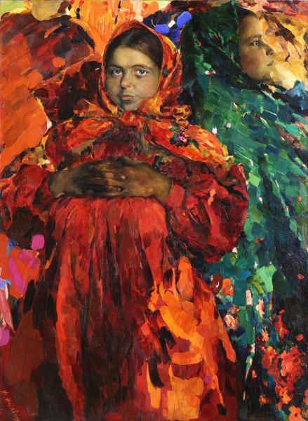 Картинки по запросу peasant women (babas) (oil on canvas)