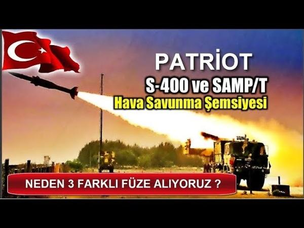 TÜRKİYE 3 FARKLI FÜZE SİSTEMİ ALIYOR - NEDEN ? ( S 400 - Patriot - Aster 30 Füze Sistemleri )