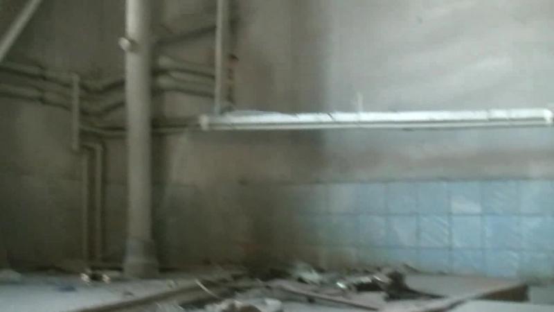 Реконструкция нашего зала на Фабричной. Второй этаж для ринга. Антресоль