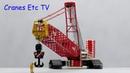 NZG Liebherr LR 1600 2 Crawler Crane 'Neeb Schuch' by Cranes Etc TV