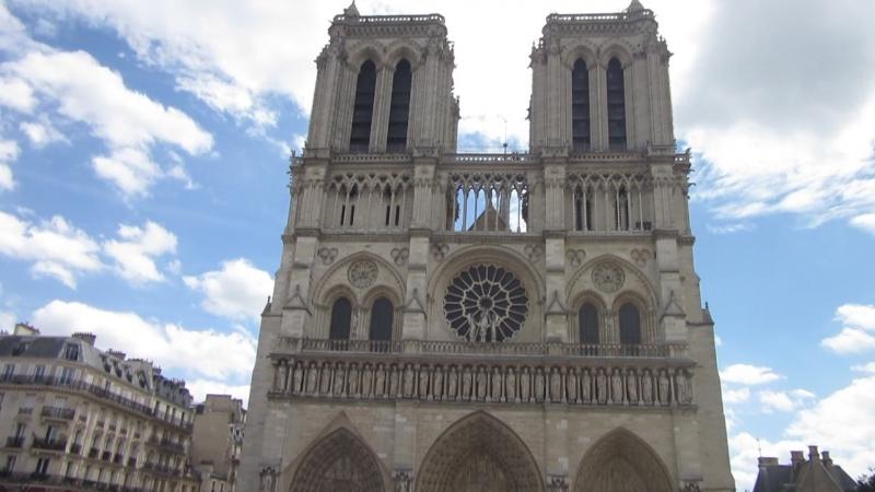 Площадь перед Собором парижской Богоматери