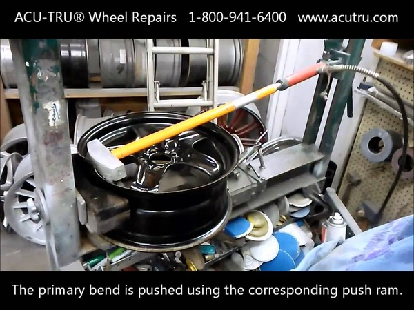 Chevrolet Malibu Steel Wheel Repair by ACU-TRU®