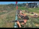 Юный разведчик принял участие в военно патриотических сборах