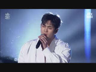 Baekho (NU'EST) - I Was Happy Until Now @ 2019 Golden Disc Awards 190106