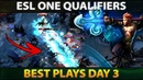 BEST PLAYS - ESL ONE Hamburg Qualifiers - Dota 2 [Day 3]