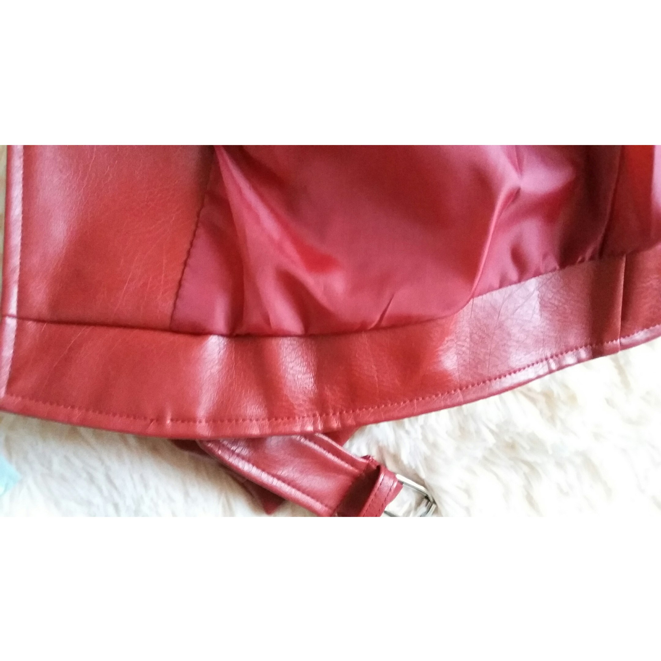 Курточка-косуха из ПУ кожи от магазина Aelegantmis Official Store
