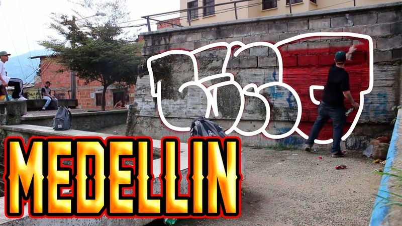 GRAFFITI BOMBING CENO X REAMS MEDELLIN