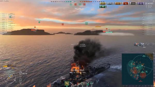 World of Warships Крейсер Cleveland что стало с имбой
