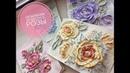 Объёмная живопись цветы eng sub Текстурная паста своими руками просто