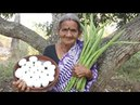 How to Cook DrumstickWith Egg Curry by grandma in village style || myna street food || food info