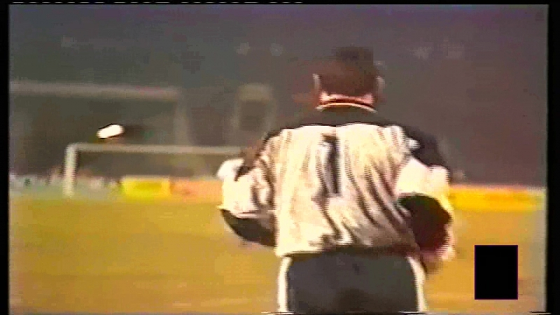 European Cup 1990/91 1/4 Spartak Moscow - Real Madrid (1st half)