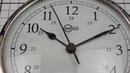 Часы кварцевые судовые из хромированной латуни Barigo Viking 611CR 155 x 35 мм