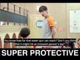 Ho Jun Jae - super protective