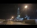 Завершающие этапы строительства небоскреба Лахта Центр в Санкт Петербурге