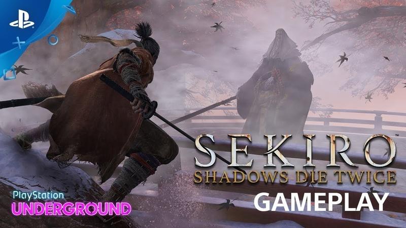 Sekiro Shadows Die Twice Gameplay Walkthrough and Corrupted Monk Boss Battle PS Underground