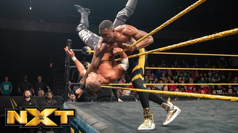 Street Profits vs The Mighty WWE NXT Aug 15 2018