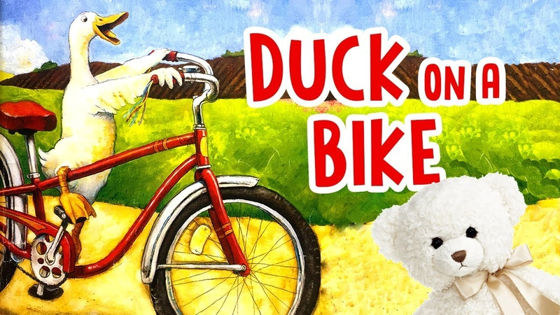 Duck on a Bike by David Shannon Children's Book Read Aloud Storytime With Ms Becky