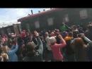Прибытие в Тюмень поезда победы 9 мая 2018 года.