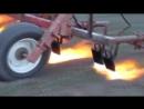 Огнемет против сорняков, борьба с сорняками с помощью огня