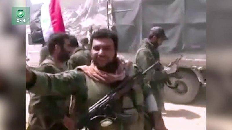 Армия Сирии объявила Дамаск освобожденным от террористов — видео ФАН