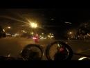 Honda Super Magna 750. На мотоцикле по ночному Питеру.