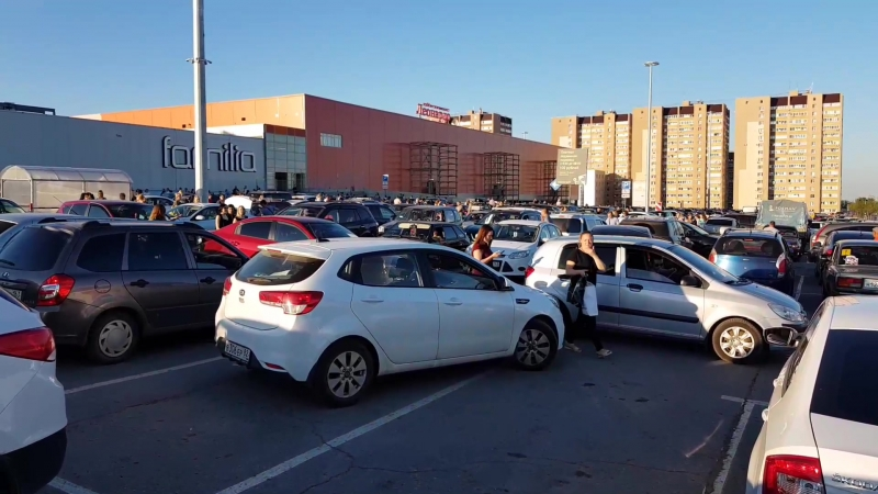 Эвакуация Космопорта