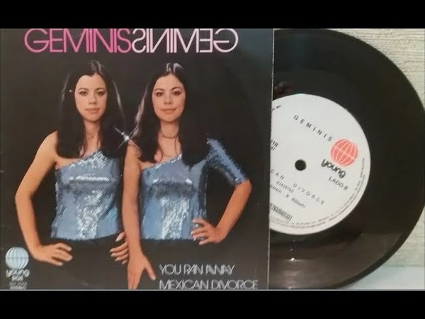 Geminis - Mexican Divorce / You Ran Away - (Compacto Completo 1981) - Baú Musical