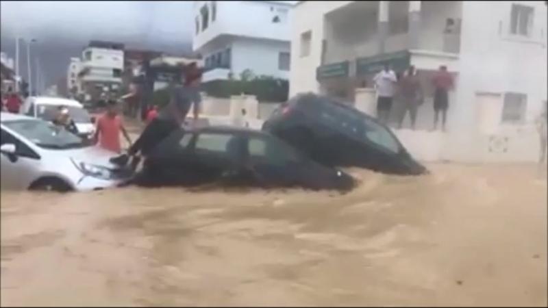 Climat : Grosses inondations en Tunisie, plusieurs morts et d'importants dégâts