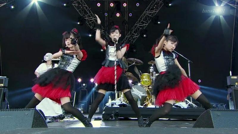 BABYMETAL Headbanger 「ヘドバンギャー!」Live compilation Inazuma fes