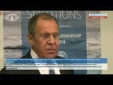 Выход к прессе Министра иностранных дел России С.В.Лаврова по итогам переговоров с Госсекретарем США М.Помпео