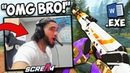 SCREAM OPENS IN BATTLE ROYALE! CASE OPENING GOES WRONG! CS:GO Twitch Clips