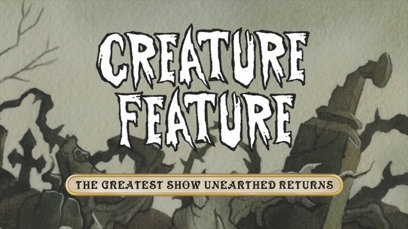 Creature Feature - The Greatest Show Unearthed Returns (Official Lyrics Video)