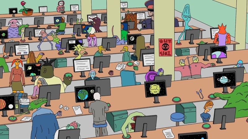 Рука Бога инди анимация Hand of Good indie animation subtitles
