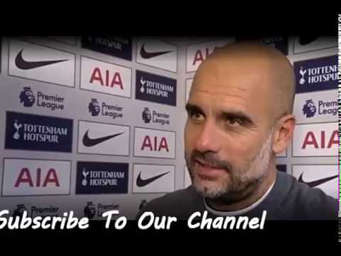 Tottenham vs Man City-Pep Guardiola Postmatch Interview