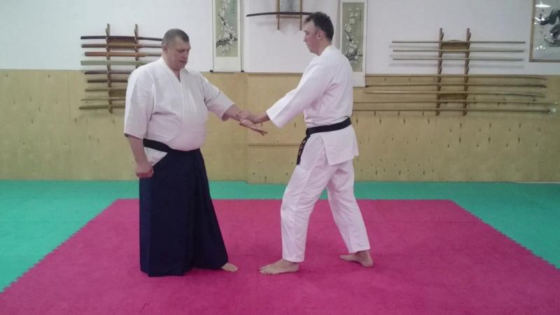 IKKYO omote_jodan technique taisabaki