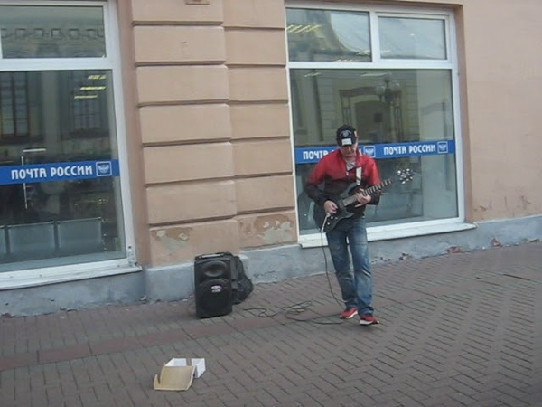 Old arbat street 19 10 2018 02 rock gitar рок гитара