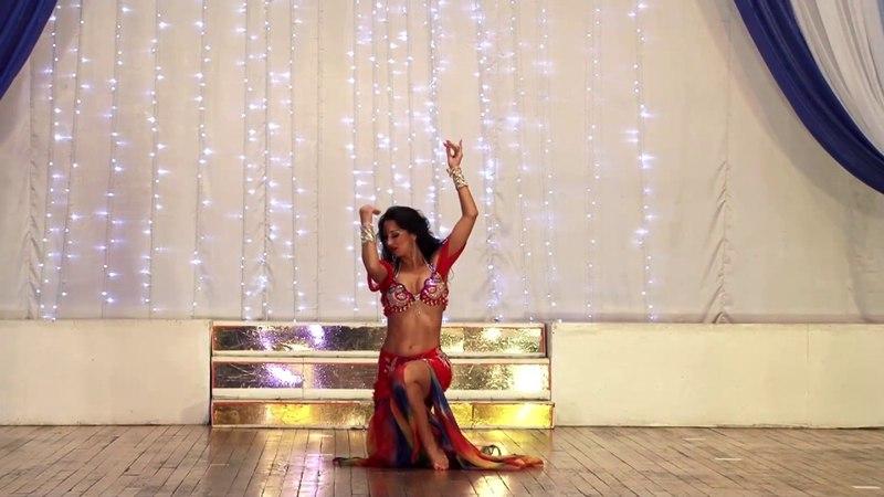 Нина Гурова. Гала-концерт 4 Фестиваля восточного танца Авалим, г.Орск, 31 марта 2018г.