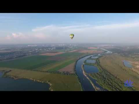 Воздушный шар над Серпуховским районом