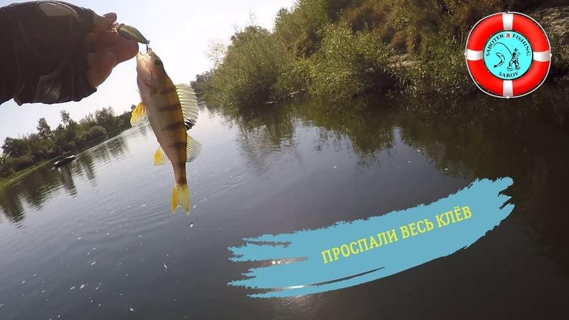 Рыбалка на р. Мокша (проспали клёв) 09.09.18.