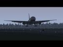 Boeing 777 landing in UUDD airport
