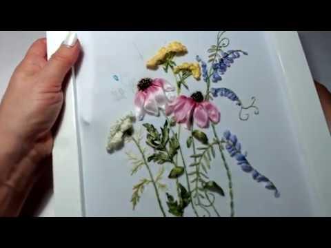 1. Разнотравье - Эхинацея, Пижма, Тысячелистник, Мышиный горошек, фиалки или анютины глазки, пчёлка