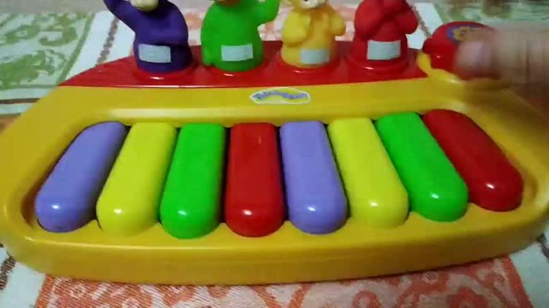 пианино с телепузиками