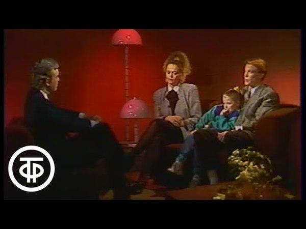 Интервью Олега Блохина и Ирины Дерюгиной для передачи До и после полуночи (1989)