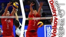 Top 10 incredible action from Dmitry Volkov best OUTSIDE SPIKES VNL 2018