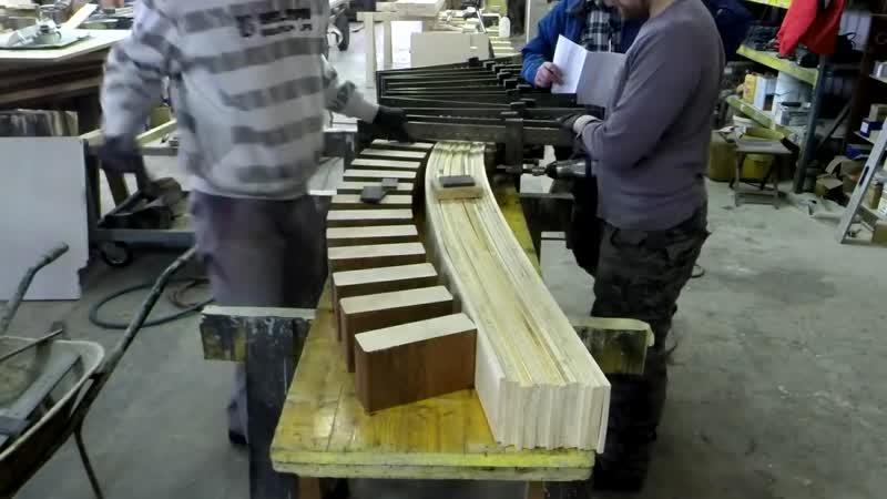Making curved beams
