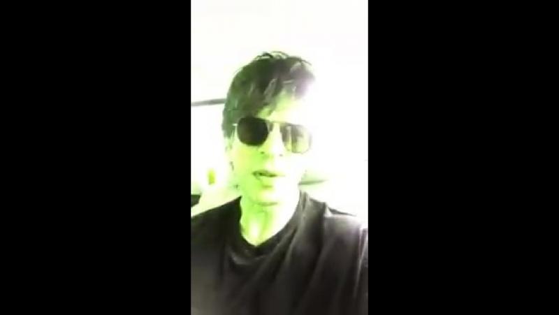 Shahrukh Khan Say Thanks His Fans For 35M Follower