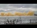 Взрыв льда, Река Иртыш, ВКО г. Семей