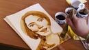 Кофейные рисунки - Рыбница / Доброе утро, Приднестровье!