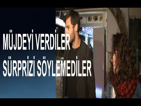 Serkan Çayoğlu Ve Özge Gürel Sevenlerine Müjdeli Haberi Verdi.