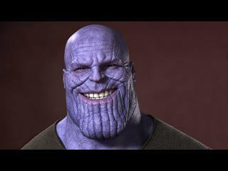 Thanos is real african american boy